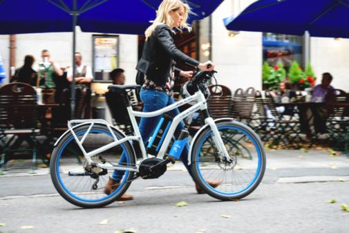 Le H2 Bike : un vélo électrique alimenté à l'hydrogène