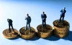 En France, le salaire net moyen est à la baisse
