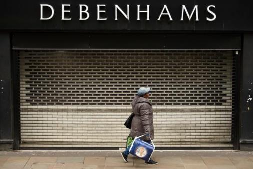 Fermeture définitive des magasins Dehenhams au Royaume-Uni