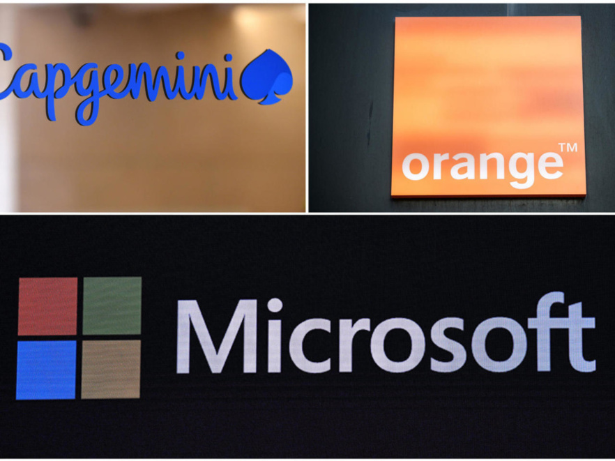 Proposition de solution de Microsoft via la nouvelle plateforme Bleu d'Orange et Capgemini