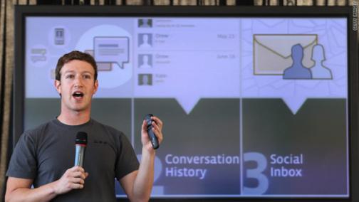 Facebook at Work pour Noël dans les entreprises