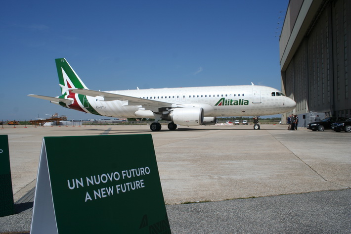 La nouvelle Alitalia officiellement lancée