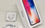 Apple fait mieux que prévu grâce à l'iPhone X