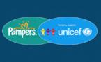 Pampers et l'UNICEF fêtent les 10 ans de leur partenariat